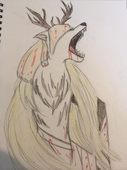15-year old draws: Vicar Amelia by BrokenSoul17