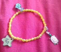 Kawaii sea creature bracelet by Lovelyruthie