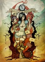 Alice In Zombieland By Johnny No Cash-d5erqau by negatron