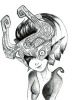 Midna - Pencil by justthebutts