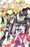 Beetlejuice Cartoon by CurseXX