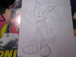 My Sonic Style Now by SonicSpeedz
