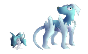Chilly Dog FAKEMON by Weyard