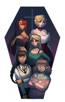Ladies of CLEANSED by xLunatiCXz