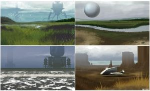 7-13-13 ENVIRONMENTS by MichaelBills
