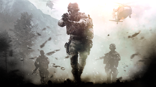 COD4 Rework Wallpaper - Call of Duty 4 Remastered by MuuseDesign