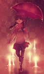 Madotsuki in the Candle World by RobotMichelle