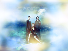 The vampire diaries by Heartless001