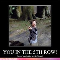 you in the fifth row by Iloveremus