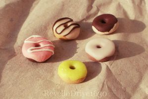 Miniature Donuts by RevelloDrive1630