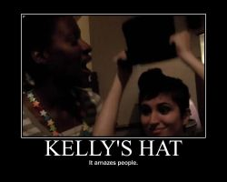 Kelly's Hat by iBloom