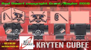 Kryten Cubee 2 by mikedaws