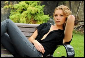 Ingrid - park bench 3 by wildplaces