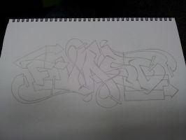 Evasd outline by SilentEchoDC