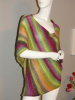Paris Sweater noro yarn by basia-hs