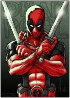 Deadpool Collaboration by PsychoSlaughterman