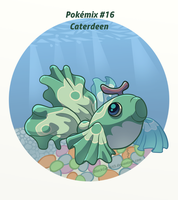 Pokemix #16: Caterdeen by BlackCat5643