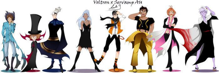 Voltron x Servamp AU by Nicole9 by Rose1234567890