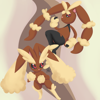Gotta Draw Them All Gen 4: Lopunny by UmbreonGal