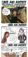 Like an artist meme by Abeille-Brillant