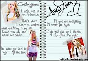 Avril Lavigne notebook blend by brittXblc