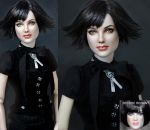New Moon Alice Cullen doll art by noeling