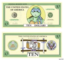 Ninja Turtle Currency by arynlight