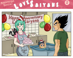 Love Saiyans - Anniversary Special by mayabriefs
