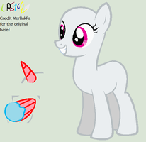 Traced bases: Blank pony 3Q puppet (Read Desc.) by LPS100-The-Dragon