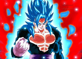 Vegetto SSJB4 Kaioken by Majingokuable