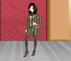 Cache American Coat Fashion by Brandee-Ssj-Doll