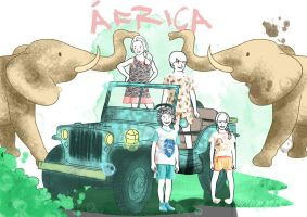 Africa by Himitsuboy