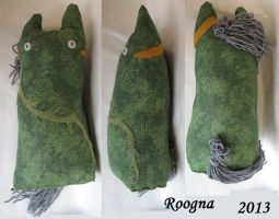 Fishmeal plush by Roogna