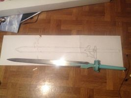 Starting a new sword by CosplayQueendom
