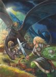 Eowyn vs the Nazgul by FStitz