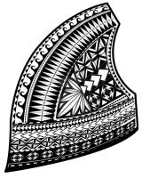 Samoan Design,upper left chest by RonJH