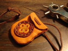 Celtic Knot charm pouch by Gryphon-HB