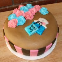 Baby Shower cake by Trishap