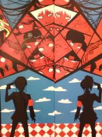 Persona 3 Painting Part Deux by Hamstertastic