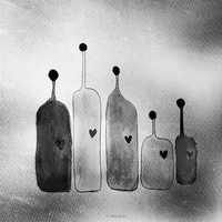 bottles | in black by bebefromtheblock