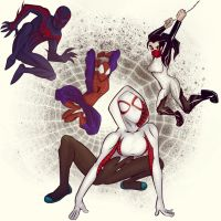 Spiderverse by sydjeffries