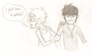 2D Does Not Like Whales by BlueHorizon89