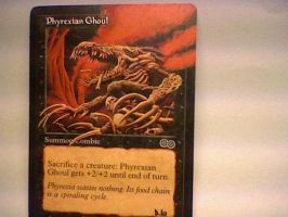 Phyrexian ghoul by Lazytroll