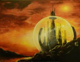 The Citadel of Gallifrey by StokeTheRage