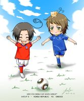 FIFA 2010 - Korea vs Greece by wissy-j