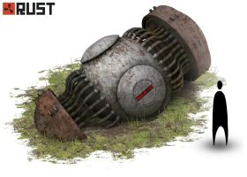 Rust - Count down clock by Howi3