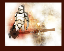 Clone Trooper by LaraStrong