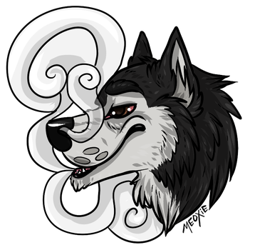 .: Stoned malamute [COM] by Meoxie
