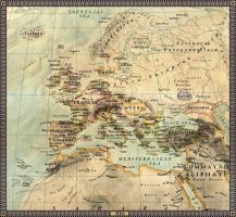 Europe in 700 by JaySimons
