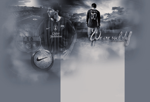 Messi by xSnookix